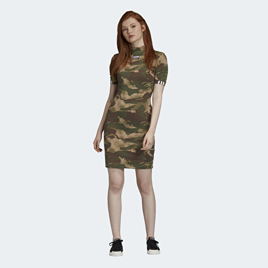 Picture of Allover Print Tee Dress
