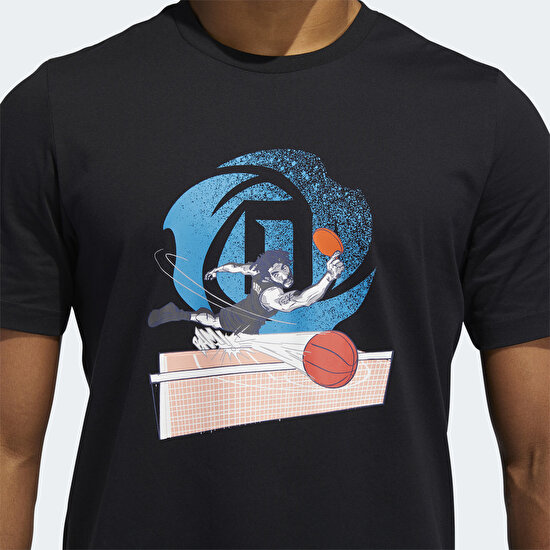 Picture of D Rose Geek Up Pong T-Shirt