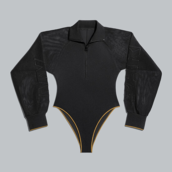 Picture of Mesh Sleeve Bodysuit