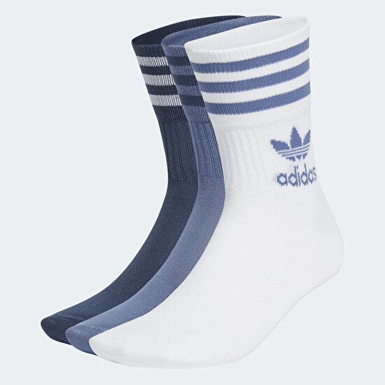 Picture of Mid Cut Crew Socks 3 Pairs