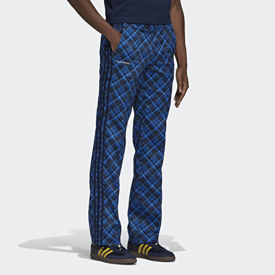 Picture of Wales Bonner Tartan Track Pants