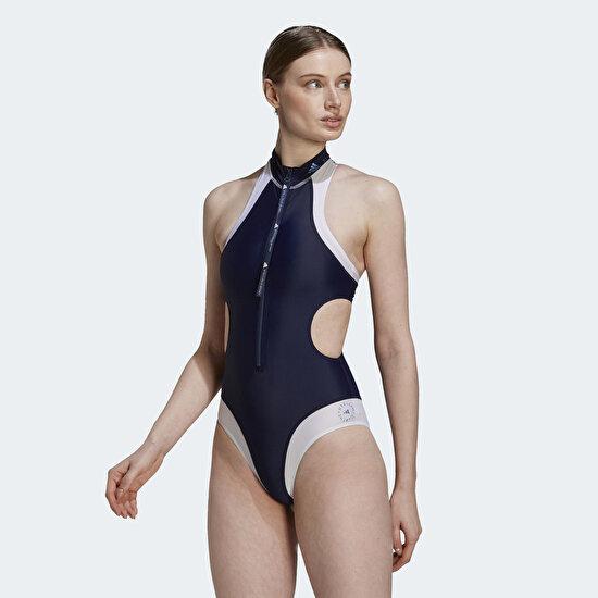 Picture of adidas by Stella McCartney TruePurpose High Neck Swimsuit