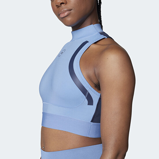 Picture of adidas by Stella McCartney TruePace HEAT.RDY Primeblue Crop Top