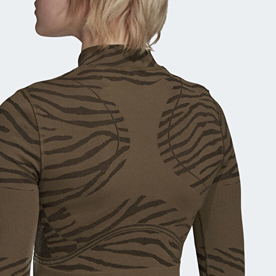 Picture of adidas by Stella McCartney Seamless Yoga Crop Top